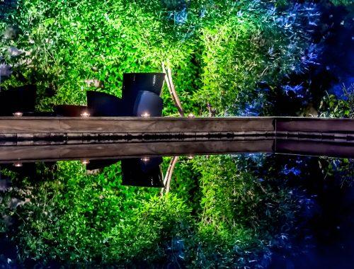 Villa de Lorgues piscine-de-nuit