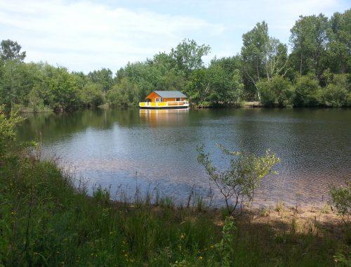 bassin d'Arcachon gite flottant