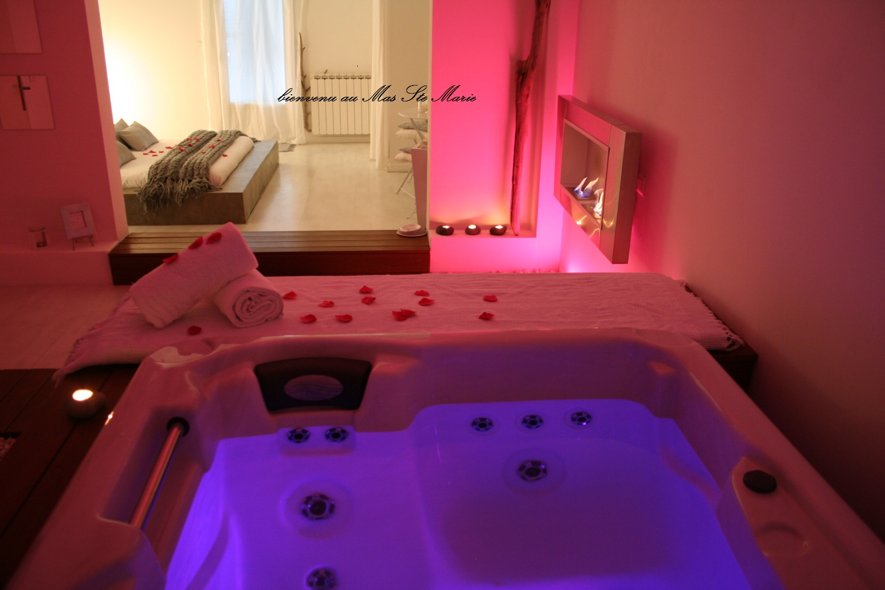 Jacuzzi Privatif Nuit D Amour