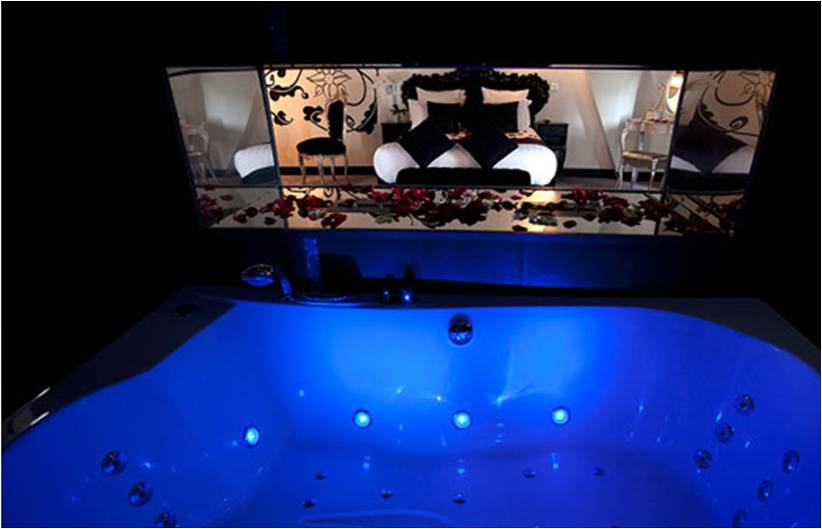 Le clos des vignes nuit d 39 amour - Chambre d hotel avec piscine privative ...